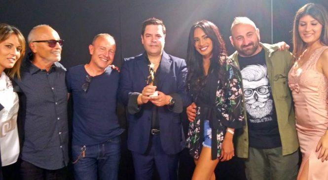Rod Eitel, destacado empresario, cantante, productor y compositor musical, ganó el EUROPEAN LATIN MUSIC AWARD, realizado en Italia