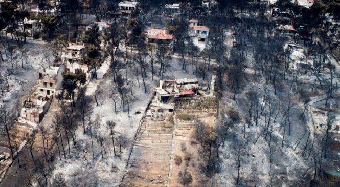 Desastre total en Grecia, muertos superan las 80 personas