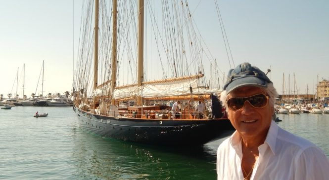 VELAS DE EPOCA PANERAI, Classic Yachts Challenge Imperia, reportaje desde Italia